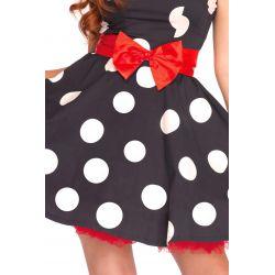 Disfraz carnaval de ratoncita Minnie Mouse de 3 pcs Leg Avenue Luxury