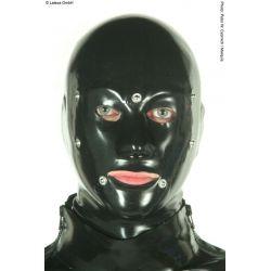 Mascara de látex anatómica con parche para ojos y boca