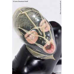 Mascara de látex simil bolsa
