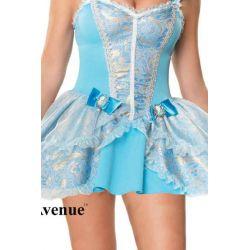 Exclusivo disfraz fantasía de hada madrina de 3 piezas