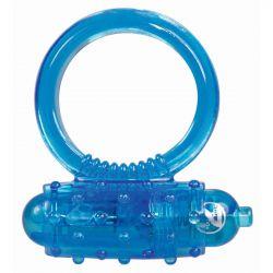 Anilla azul vibratoria para tu pene