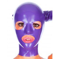 Mascara de látex anatómica