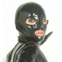 Mascara de látex anatómica de 0,6mm