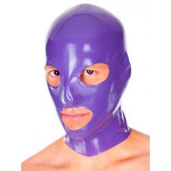 Mascara de látex con orificios