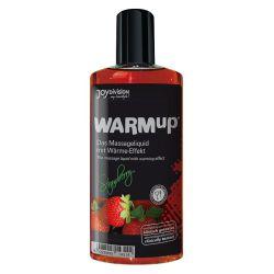 Aceites de masaje warmup fresa 150ml.