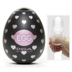 ¡Huevo del amor!.. Huevo masturbador de TENGA con rugosidades y lubricante