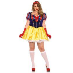 Disfraz sexy Leg Avenue princesa blancanieves de 2 piezas hasta XXXL