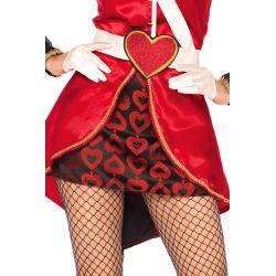 Disfraz carnaval Guardia Real de las Cartas 4 piezas Leg Avenue Luxury