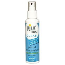 Spray de limpieza pjur med clean intimate/toy 100ml
