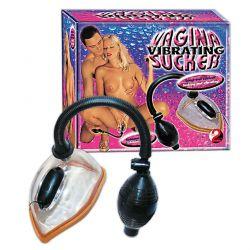 Succionador de vagina vibrante