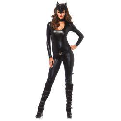 Disfraz de catwoman mujer fatal