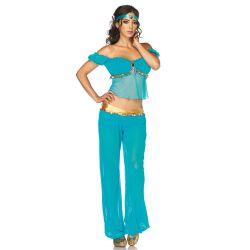 Leg Avenue disfraz sexy de bailarina árabe compuesto de 3 piezas