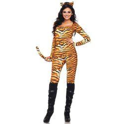 """Salvaje disfraz de """"Tigresa Indomable"""" 2 piezas de Leg Avenue"""