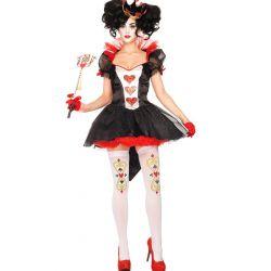 """Elegante Disfraz de """"Reina de Corazones"""" de Leg Avenue"""