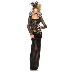 Disfraz sexy Leg Avenue de reina malvada 2 piezas hasta talla XL
