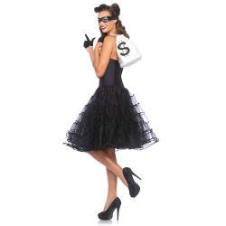 Leg Avenue vestido rockabill y enagua de una sola pieza y dos colores