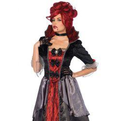 Disfraz de cortesana sangrienta para Halloween o Carnaval de Leg Avenue