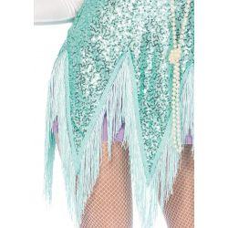 Leg Avenue disfraz carnaval de bailarina sexy de Fostrot 2 piezas