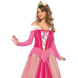 Leg Avenue lujoso disfraz carnaval de Princesa Aurora de 2 piezas