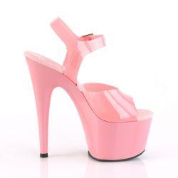 Sandalias de Plataforma para Pole Dance en novedoso color Rosa palo