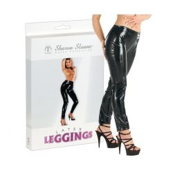 Leggings ajustados de látex 100%