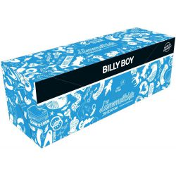 Pack de condones transparentes ¨Billy Boy¨ 50 unid.