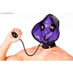 Mascara de látex inflable