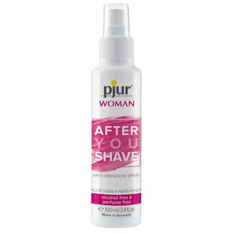 """Spray de mujer 100 ml para la inrritación después del rasurado con """"Pjur"""""""