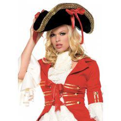 Sombrero pirata de oro