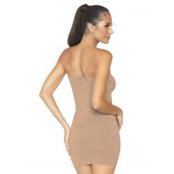 "Vestido de tubo opaco fabricado en tejido microfibra ""Leg avenue"""