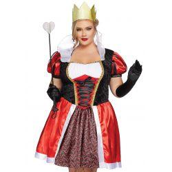 ¡Tallas XL-2XL hasta 3XL! Disfraz día de reina del país de las maravillas
