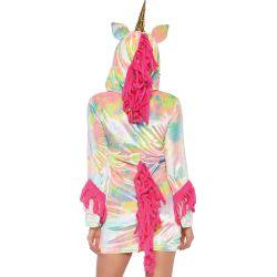 Disfraz para carnaval de unicornio encantador. Talla XS hasta L