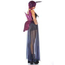 Leg avenue disfraz para carnaval de unicornio intergaláctico. 4 piezas