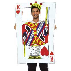 Leg avenue disfraz de hombre rey de corazones para canaval. Talla única