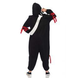 "Disfraz para carnaval de Ninja Kigurumi ""Leg Avenue"" 2 piezas"