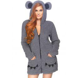 "Disfraz koala de peluche para carnaval ""Leg avenue"" 1 pzs. Talla S hasta L"