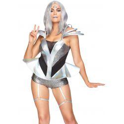 Disfraz Leg Avenue de soldado del Espacio para carnaval. Tallas XS hasta L
