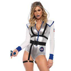 Leg Avenue disfraz de Astronauta para carnaval 3 piezas. Talla S hasta L