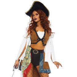 """Disfraz de Sirena Pirata 3 piezas de la marca """"Leg avenue"""". Tallas hasta L"""