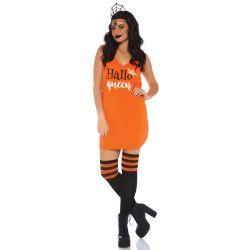 Leg Avenue disfraz halloween vestido con letras impresas. Talla S hasta L