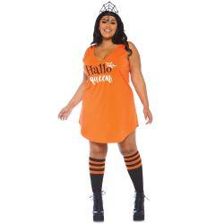 Disfraz para halloween vestido con letras impresas. Tallas hasta 3XL