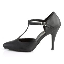 Zapatos de polipiel con tacón fino VANITY-415 para hombres y mujeres