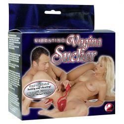 Succionador de vagina con vibración y mando a distancia