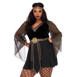Leg Avenue Disfraz de carnaval talla XXXL guerrera amazona de 2 piezas