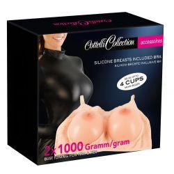 Sujetador con senos extraíbles para hombres y mujeres ¡Aumenta 4 tallas!
