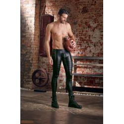 Pantalones ajustados de rock & roll en un aspecto mate. Talla S hasta XL