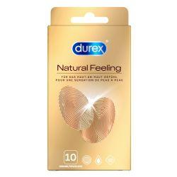 "Preservativos sin látex 10 unidades ""Durex Natural feeling"""
