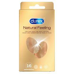 "Preservativos sin látex 16 unidades ""Durex Natural feeling"""