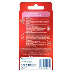 8 Preservativos transparentes de la marca durex classic