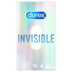"""¡Seguridad y diversión!.. 12 preservativos ultra finos """"Durex invisible"""""""